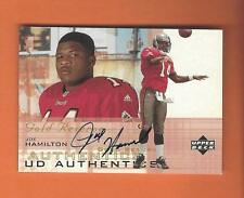 2000 UD GOLD RESERVE JOE HAMILTON ON CARD AUTO #JH TAMPA BAY BUCCANEERS