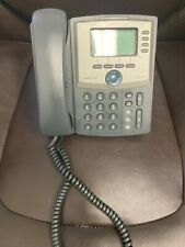Cisco Linksys Spa942 4 Line Ip Phone Voip Poe Power Over Ethernet With Stand