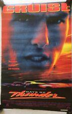 "RaRe. vintage Days of Thunder movie poster Tom Cruise 21x32"" NASCAR 90s (1990)"