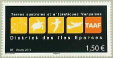 TAAF 2019 Frans Antarctica  Logo éparses     postfris/mnh