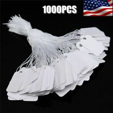 1000Pk Price Tags Marking Label Paper Key Small Lot Retail Merchandise Store !