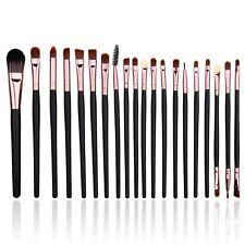 20pcs Eyes Makeup Brushes Set Eye Shadow Blending Eyeliner Eyebrow Brush Tools