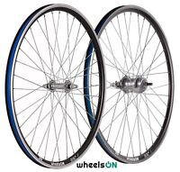 26 inch wheelsON wheel set Front and Rear Shimano Nexus 3 Coaster Brake Black