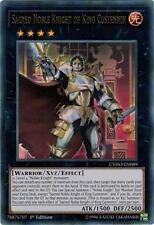 Sacred Noble Knight of King Custennin CYHO-EN089 Cybernetic Horizons Yugioh