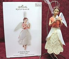 Hallmark 2008 Ornament Series~Holiday Angels~A Wish For Peace # 3