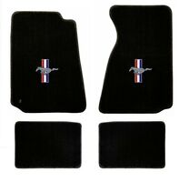 OEM NEW 2013-2014 Ford Mustang Floor Mats Black Carpet ...