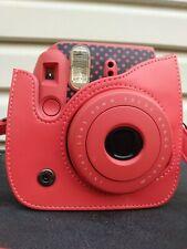 Fujifilm Instax Mini 8 Pink Flamingo 60mm Focus Range Camera & Case