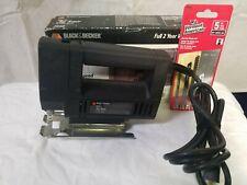 BLACK & DECKER M47 SERIES Variable Speed Jig Saw NO. 7548 in Original Box+BLADES