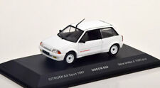 1:43 Odeon Citroen AX Sport 1987 white