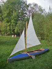 Faltboot  Segel , Segelanlage für alle Kolibri, Rz 85 , E 65  u.a., von Pouch
