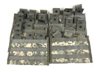 Lot of 10 Triple Mag Pouch, ACU Digicam Army 3 x 30 MOLLE II Side by Side Pouch