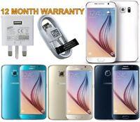 Samsung Galaxy S6 G920F 32GB 64GB 128GB White Black Gold Unlocked Smartphone