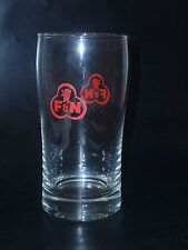 "OLD EDITION -  1 x  Singapore drinking glass - F & N ""Cola Shape""  (CA- #10 )"