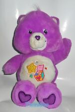 Glücksbärchi Care Bears surprise Bear estriptís bärchi Purple lila aprox. cm 30