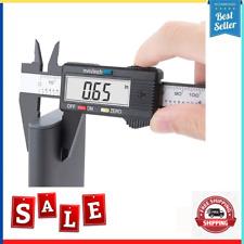 Digital Caliper 6 Micrometer Large Lcd Screen Inchmillimeter Household Diy New