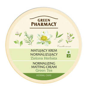 Green Pharmacy Green Tea Mattifying Oily Combination Skin Day Night Cream 150ml