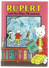 Rupert And The Blue Mountain Alfred Bestall Purnell 1987 Hardback Good Condition