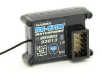 Sanwa / Airtronics 107A41131A RX-471WP Waterproof 4-Channel Receiver