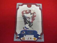 2007 Omega Joe Sakic silk  hockey card   Avalanche  # 5