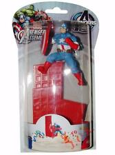MARVEL Avengers Assemble CAPITAN AMERICA COMPLEANNO CAKE TOPPER DECORAZIONE KIT