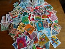 Collection lot 300 different stamps of Switzerland