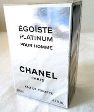 Chanel Egoiste Platinum 1995 edt 125 ml. splash  vintage code 5530
