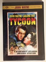 Tycoon (DVD, 2007) (NEW) John Wayne, Anthony Quinn, Laraine Day