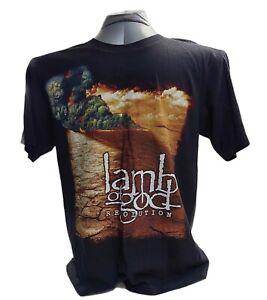 Lamb Of God Resolution Men's NWOT Black T-Shirt Size L