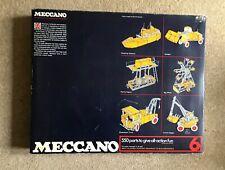 Meccano 1970s Set 6 100% Complete (near mint parts)