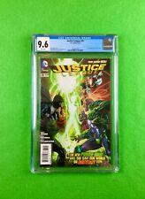 Justice League #31 (2014): CGC 9.6 (NM+)!  1st Full Appearance Jessica Cruz!