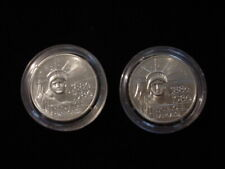 "Pair 1986 France Silver 100 Franc Coins, ""Piedfort"""