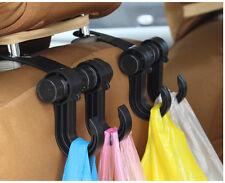 Soporte Reposacabezas De Asiento De Coche SUV Negro Colgador Organizador Bolsas Abrigo Bolsa De Mango
