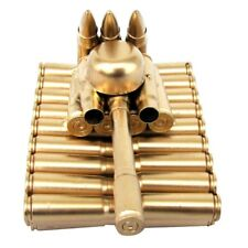 Bullet Shell Casing Shaped Army Tank Military Gift made from gun casings shells
