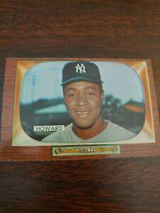 1955 Bowman Elston Howard baseball card #68 New York Yankees EX