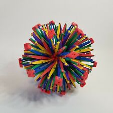 Hoberman Sphere Rainbow Expanding Transforming Ball 9 to 32 Inches Educational