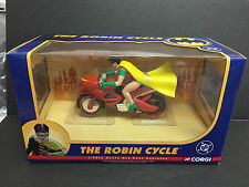 CORGI BATMAN THE ROBIN CYCLE 77407 DC COMICS 1:16 MINT RARE JUNIORS DIECAST CAR