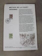 Collection Historique Timbre Poste 1er Jour : 29/05/95 - métier de la foret
