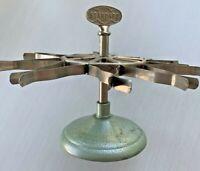 Vintage Standard Rubber Stamp Holder Carousel Holds 10 Stamps Turnstile Spins