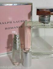 Sexy 5ml Ralph Lauren ROMANCE EDP perfume for travel, handbag, purse, yoga, gym