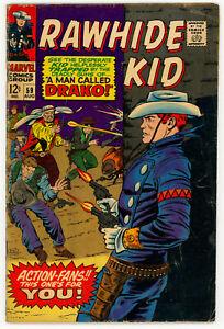 JERRY WEIST ESTATE: RAWHIDE KID #59 (Marvel 1967) VG! NO RES!