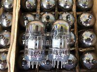 10x 6N2P-EV (6N2P-ER ~ECC83 ~12AX7) DOUBLE TRIODE NEW, NOS, MATCHED DATE
