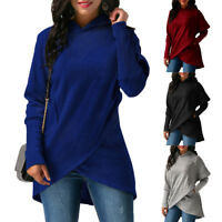 New Fashion Women Long Sleeve Hoodie Jumpers Pullover Sweatshirt Tops Hooded 3xl