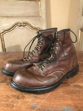 Vintage Red Wing Men's Chukka Irish Setter Engine Hiking Boots Size 12 Rare!!!!