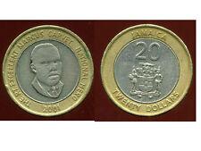 JAMAIQUE 20 dollars  2001  ( bis )