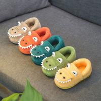Toddler KidS Boy Girl Winter Fluffy Little Shoes Warm Cute Animal Home Slipper