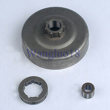 NEW CLUTCH DRUM + SPROCKET RIM 3/8-7 + BEARING FIT STIHL 066 MS660 064 CHAINSAW