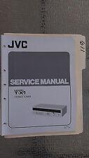JVC t-x1 service manual original repair book stereo am fm tuner radio