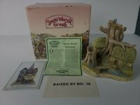 David Winter Cottages Robin Hood's Hideaway, Collector's Guild Piece #1 COA/Box