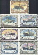 Russia 1977 rompighiaccio Barche Navi//// Marittimo trasporto/Nautico Set 7 V (b2081a)