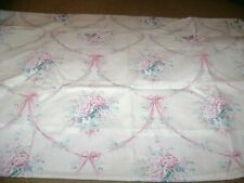 2 Queen Size Pillowcases...Vintage J C Penney...Pink Roses